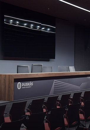 PRESS CONFERENCE ROOM