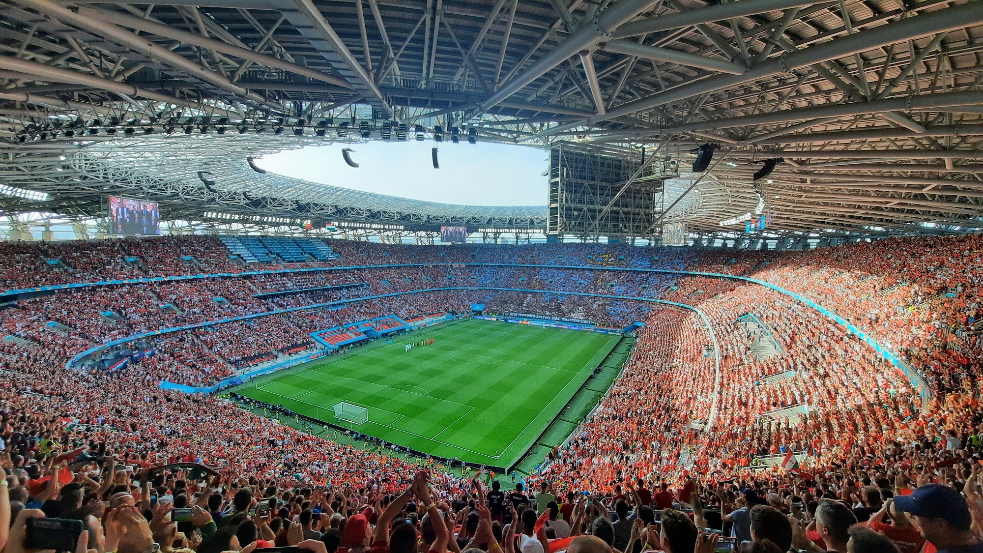 EURO 2020 was a big success in the Puskás Arena