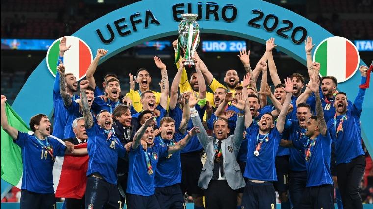 EURO 2020 - Italy won the football European Championship!